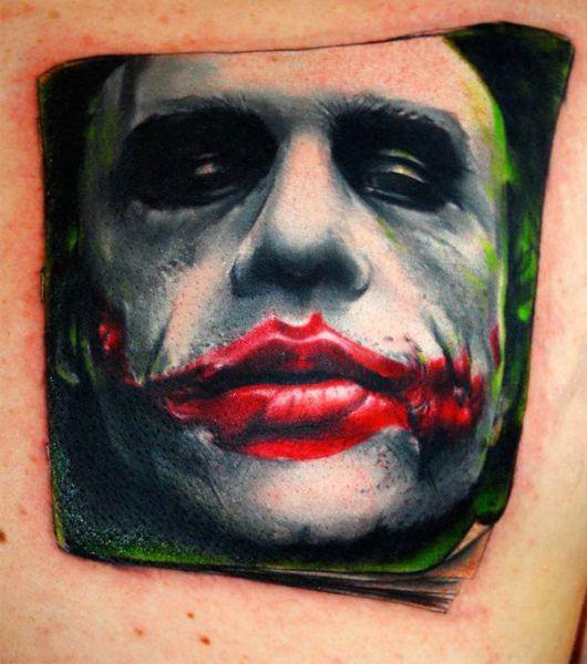 Tatuagens do Coringa do Batman (69)