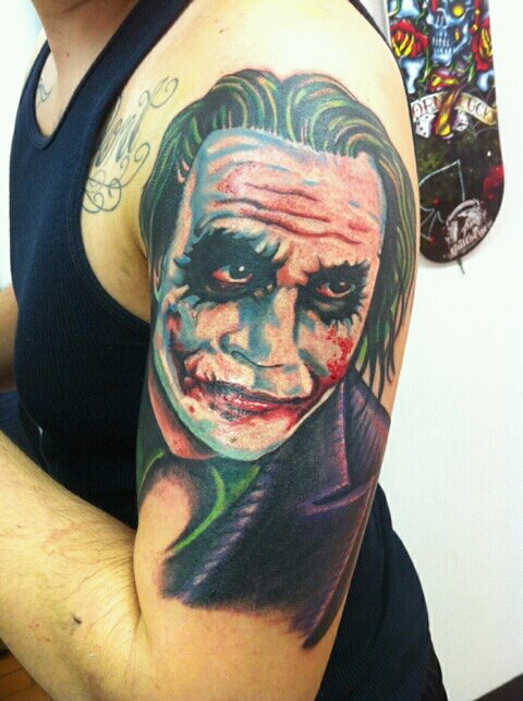 Tatuagens do Coringa do Batman (68)
