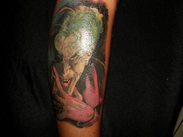Tatuagens do Coringa do Batman (67)