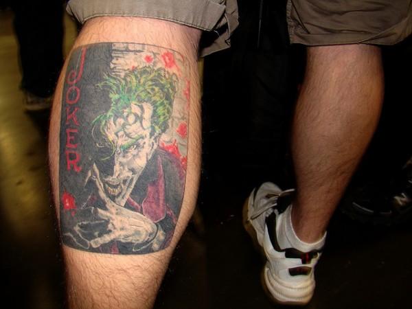 Tatuagens do Coringa do Batman (64)