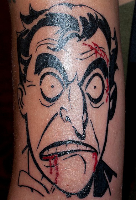 Tatuagens do Coringa do Batman (62)