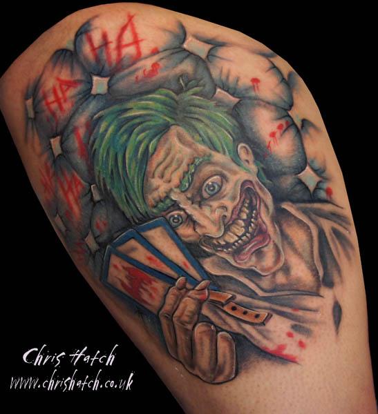 Tatuagens do Coringa do Batman (58)