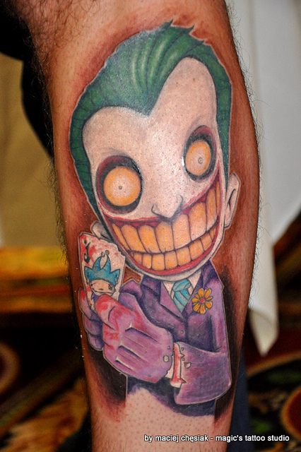 Tatuagens do Coringa do Batman (57)