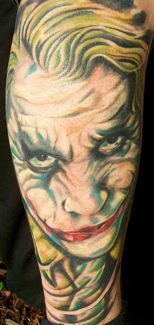 Tatuagens do Coringa do Batman (55)