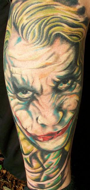 Tatuagens do Coringa do Batman (55)