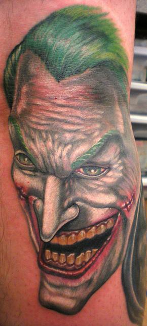 Tatuagens do Coringa do Batman (54)