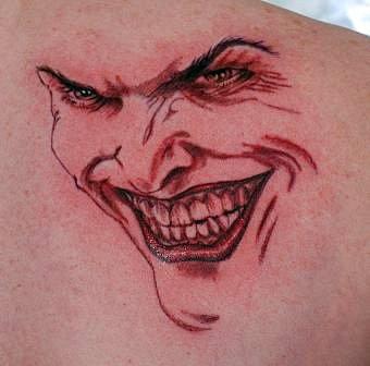 Tatuagens do Coringa do Batman (53)