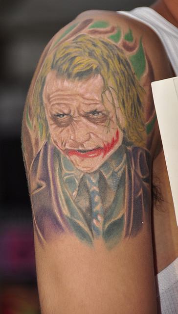 Tatuagens do Coringa do Batman (52)