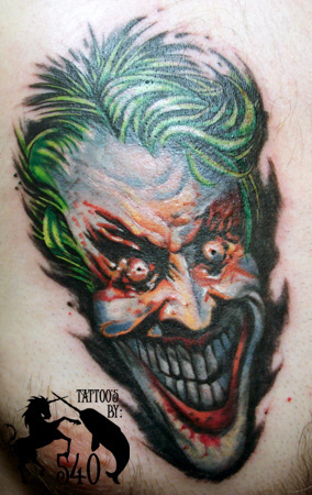 Tatuagens do Coringa do Batman (51)