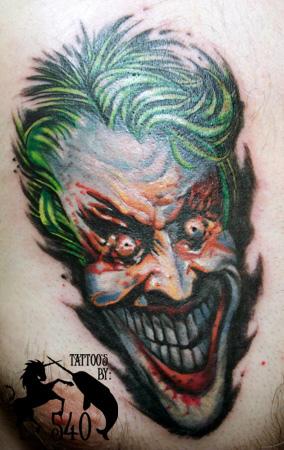 Tatuagens do Coringa do Batman (51)