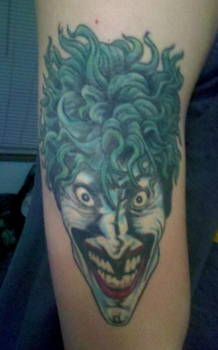 Tatuagens do Coringa do Batman (47)