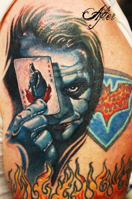 Tatuagens do Coringa do Batman (45)