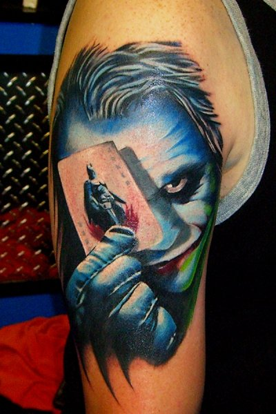 Tatuagens do Coringa do Batman (43)