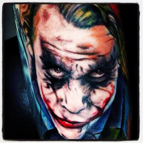 Tatuagens Do Coringa Do Batman  42