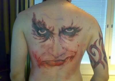 Tatuagens do Coringa do Batman (41)