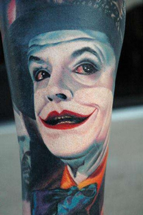 Tatuagens do Coringa do Batman (39)