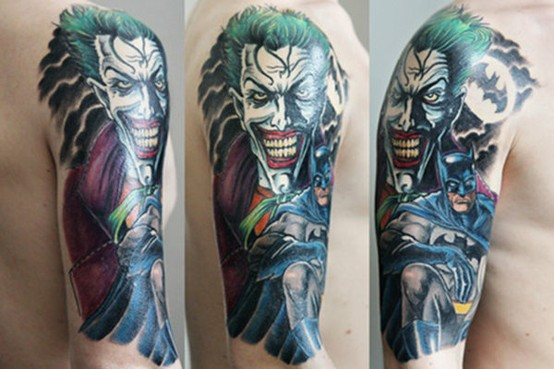 Tatuagens do Coringa do Batman (38)