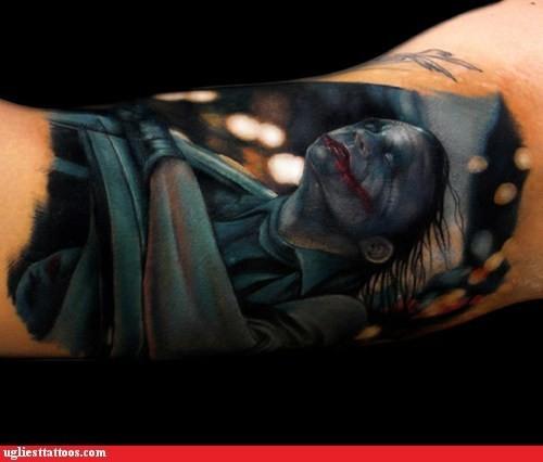 Tatuagens do Coringa do Batman (37)