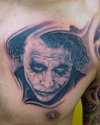 Tatuagens do Coringa do Batman (36)