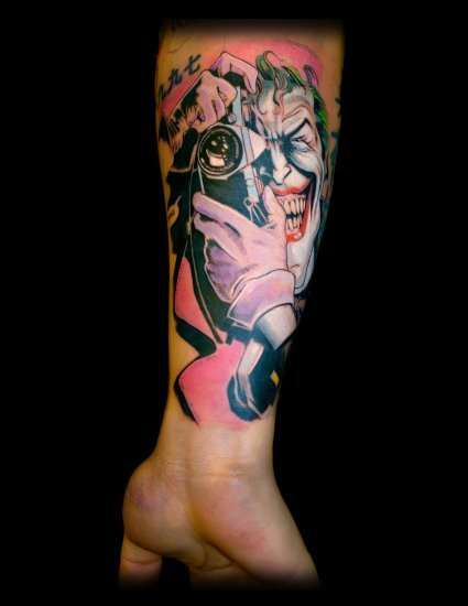 Tatuagens do Coringa do Batman (34)
