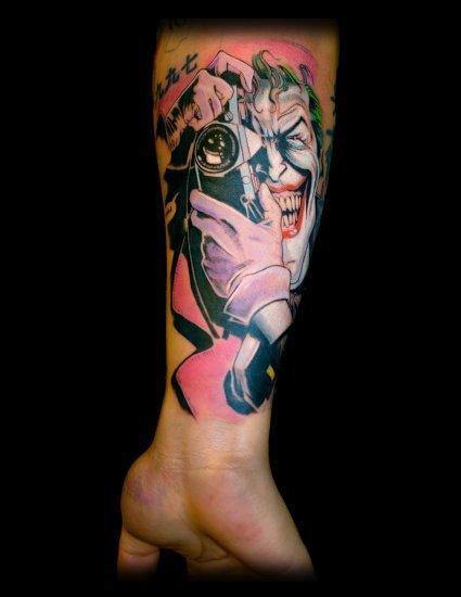 Tatuagens do Coringa do Batman (34)