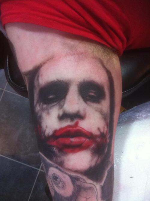Tatuagens do Coringa do Batman (33)