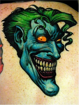 Tatuagens do Coringa do Batman (30)