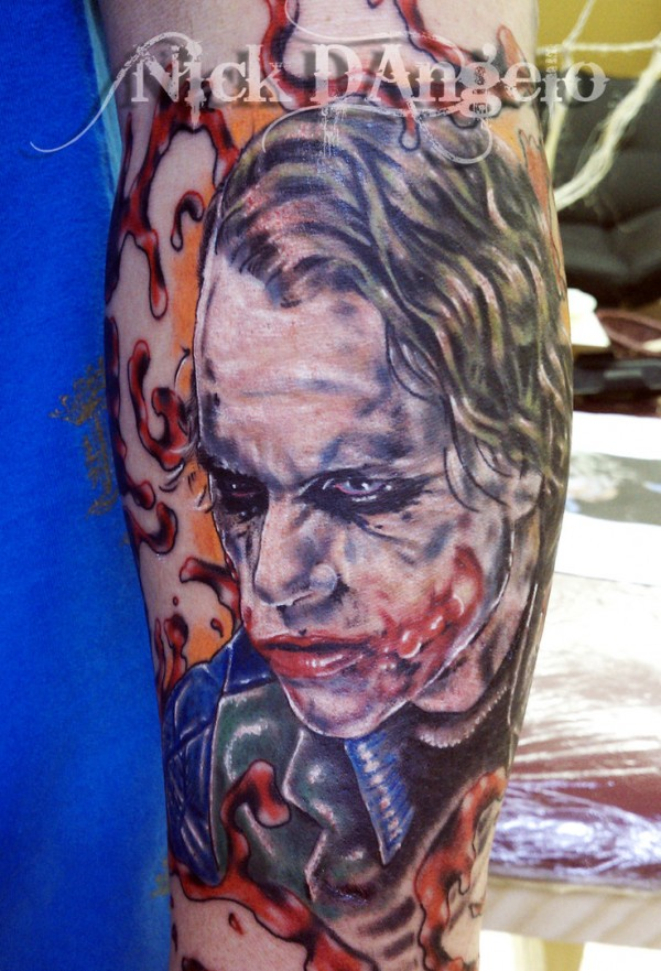 Tatuagens do Coringa do Batman (29)