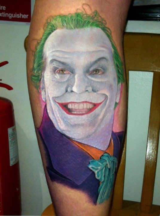 Tatuagens do Coringa do Batman (28)