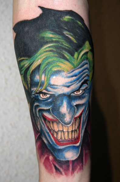 Tatuagens do Coringa do Batman (27)