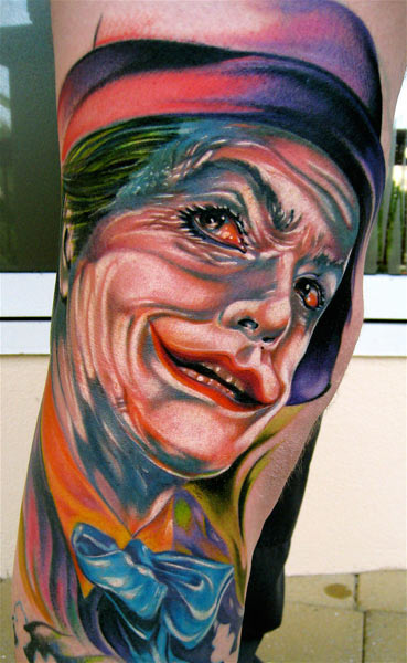 Tatuagens do Coringa do Batman (23)