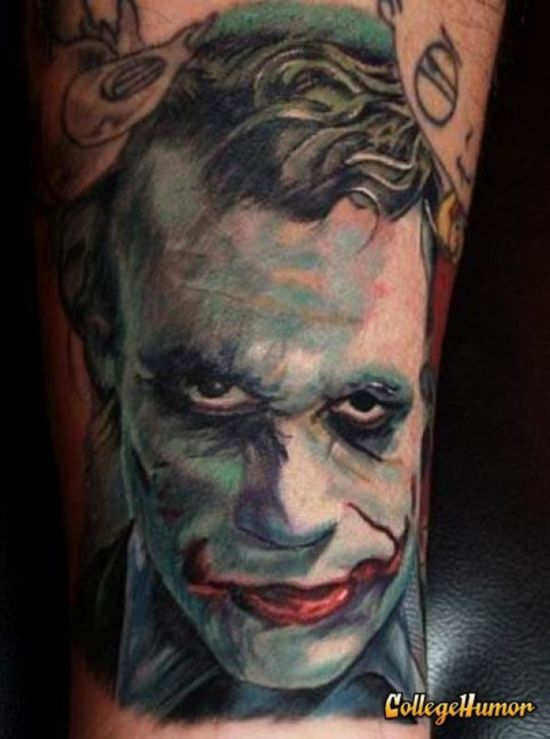 Tatuagens do Coringa do Batman (18)