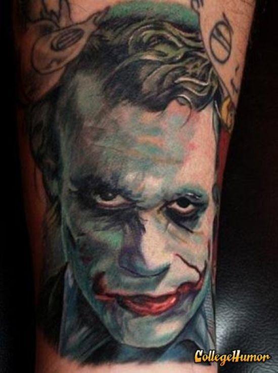 Tatuagens do Coringa do Batman (18)