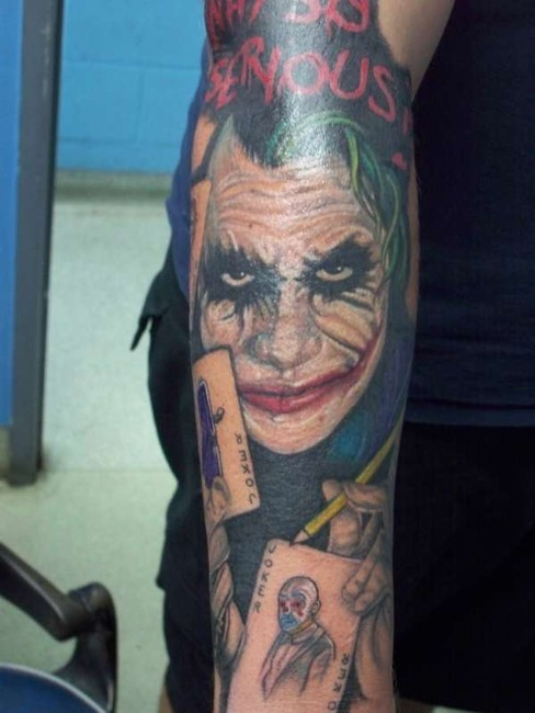 Tatuagens do Coringa do Batman (15)