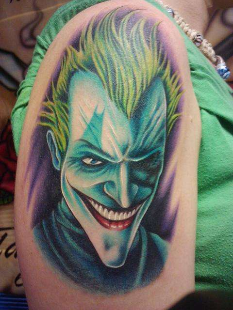 Tatuagens do Coringa do Batman (11)
