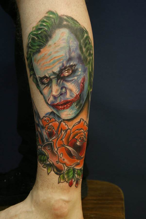 Tatuagens do Coringa do Batman (8)