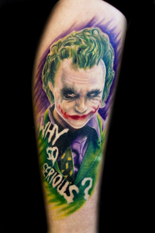 Tatuagens do Coringa do Batman (5)