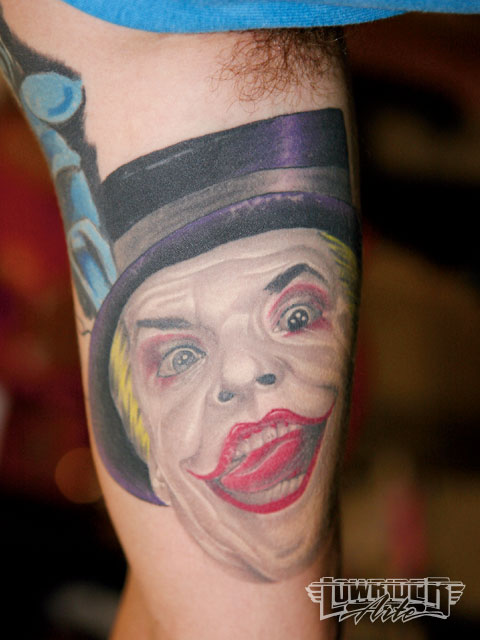 Tatuagens do Coringa do Batman (4)
