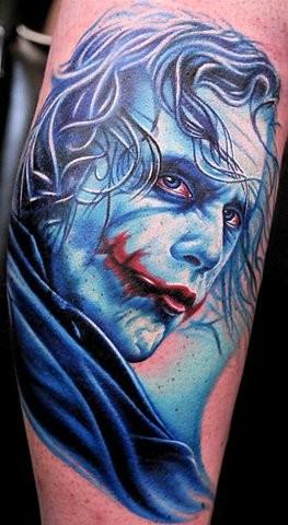 Tatuagens do Coringa do Batman (3)