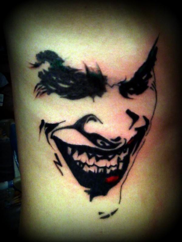 Tatuagens do Coringa do Batman (2)