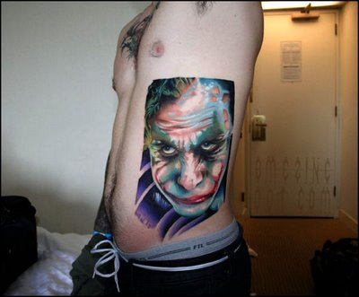 Tatuagens do Coringa do Batman (1)