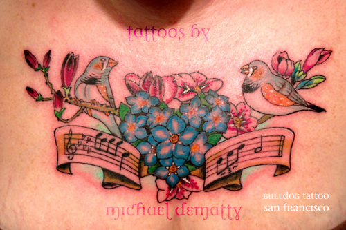 Tatuagens com o tema música (58)