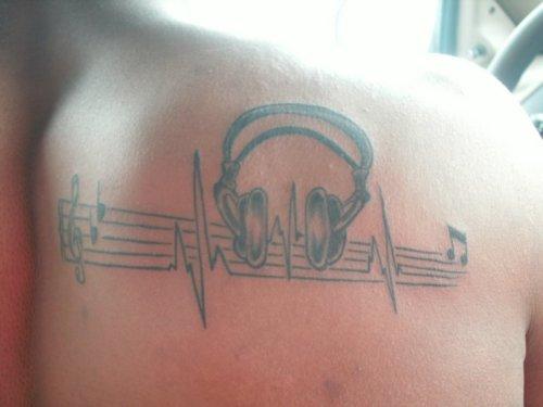 Tatuagens com o tema música (21)