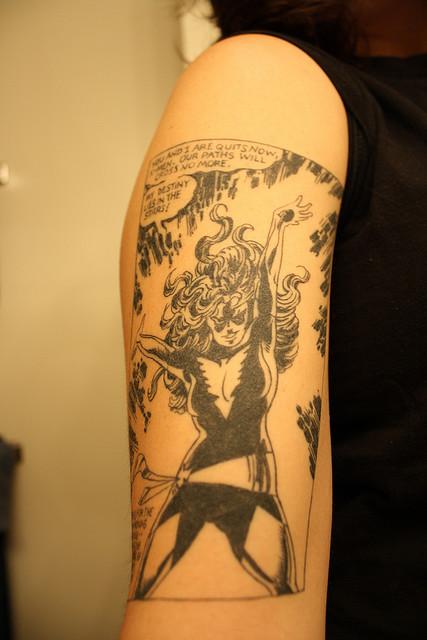 Tatuagens com a Jean Grey de X-Men (13)