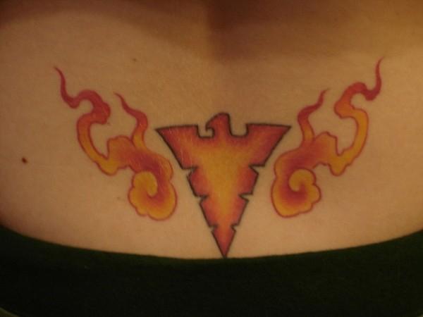 Tatuagens com a Jean Grey de X-Men (11)