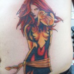 15 Tatuagens com a Jean Grey de X-Men