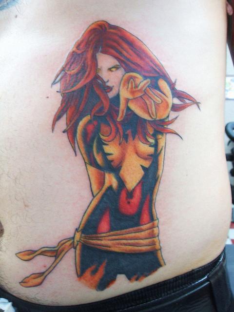 Tatuagens com a Jean Grey de X-Men (9)