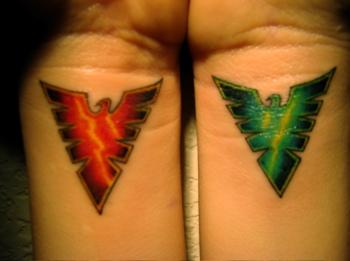 Tatuagens com a Jean Grey de X-Men (8)