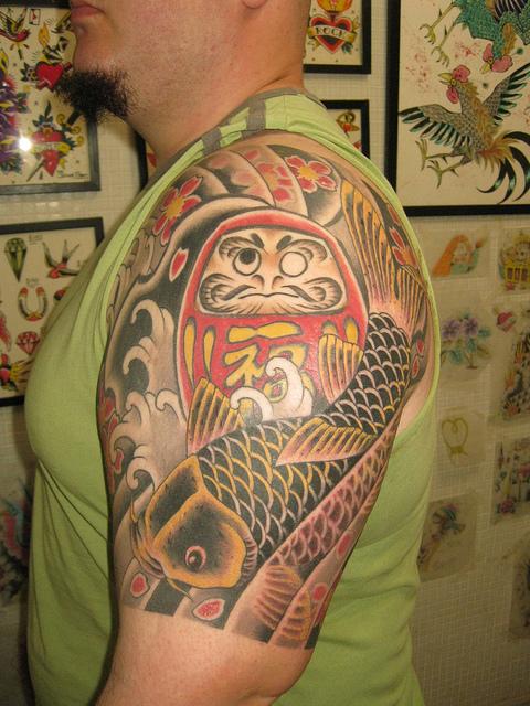 Tatuagens de bonecos de Daruma (59)