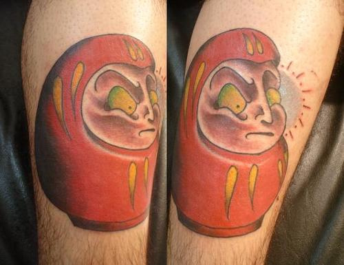 Tatuagens de bonecos de Daruma (54)